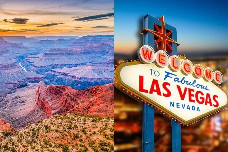 Vegas & Grand Canyon Stock Image