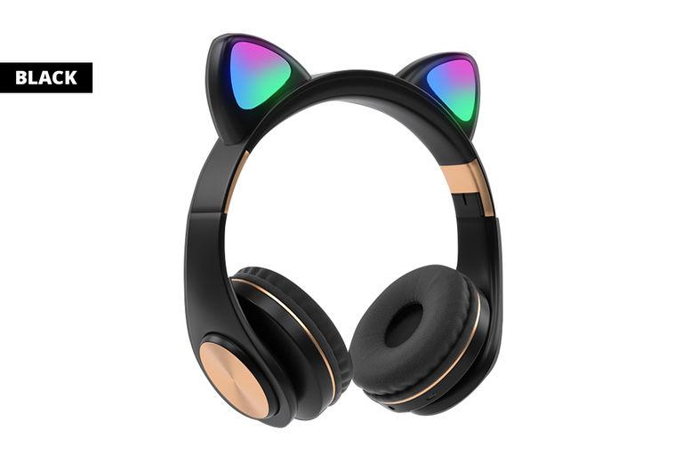 Wireless-LED-Cat-Ear-Headphones-2