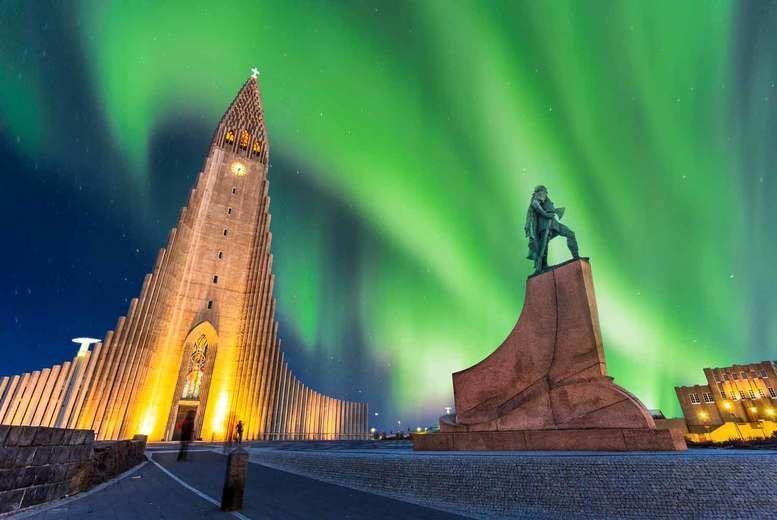 Reykjavik-Northern lights