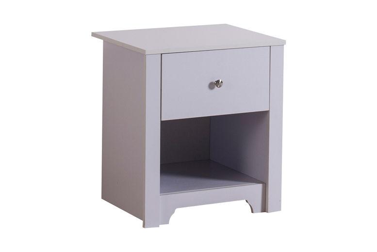 HOMCOM-53Wx42.5Dx59H-Cm-Bedside-Table-White-2