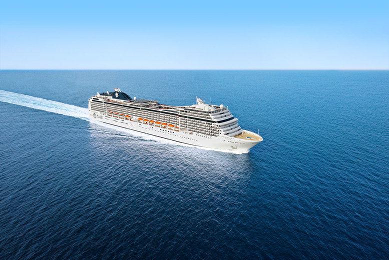 MSC Magnifica Cruise - Ship Exterior