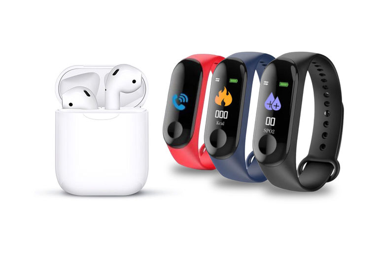 Apple-Compatible-Wireless-Earbuds-&-Case-Plus-FREE-Fitness-Tracker-1