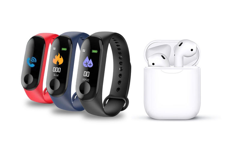 Apple-Compatible-Wireless-Earbuds-&-Case-Plus-FREE-Fitness-Tracker-2