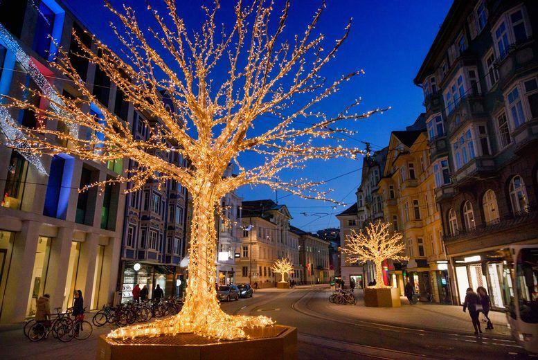 Innsbruck Christmas Stock Image