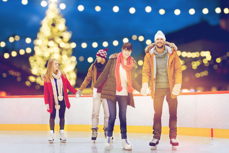 Ice Skating & Hot Chocolate Voucher