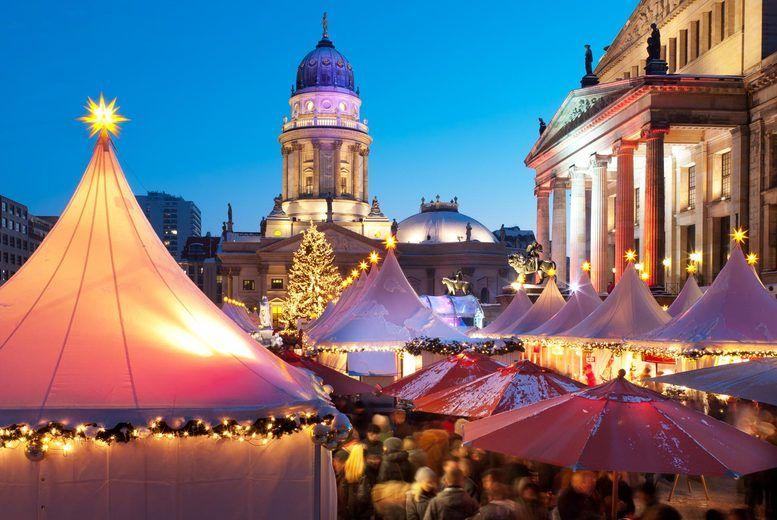 Berlin Christmas Market Stock Image