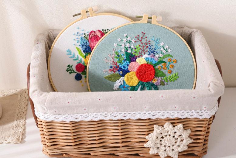 Flower-bouquet-DIY-Cross-Stitch-Embroidery-Starter-Kit-2