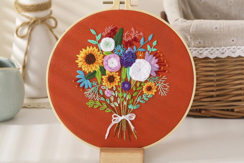 Flower-bouquet-DIY-Cross-Stitch-Embroidery-Starter-Kit-6