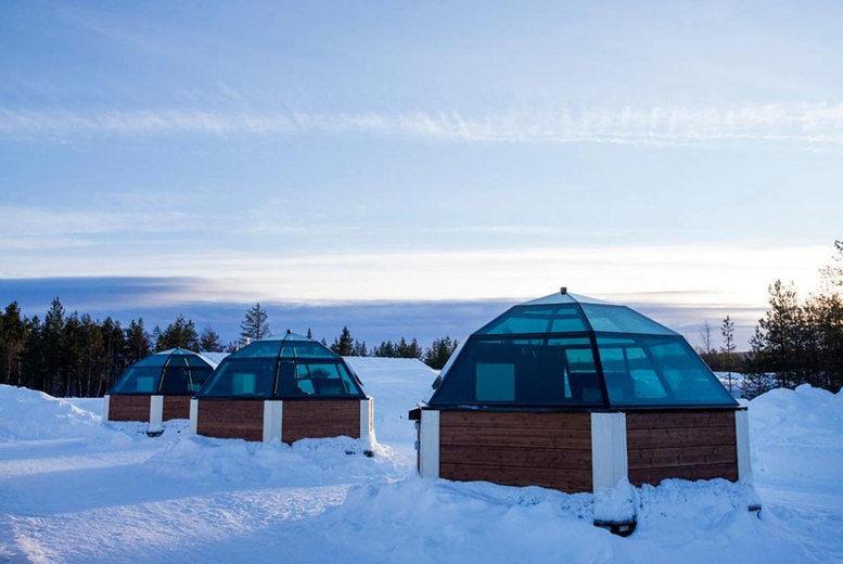 Arctic SnowHotel & Glass Igloos - Huts