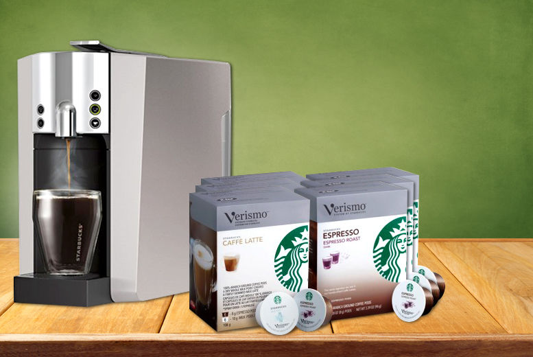 Starbucks Coffee Machine 72 Coffee Pods Shop Wowcher