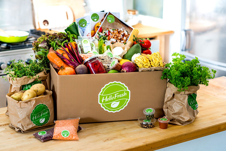 Hello Fresh Meal Delivery Box | Shop | Wowcher