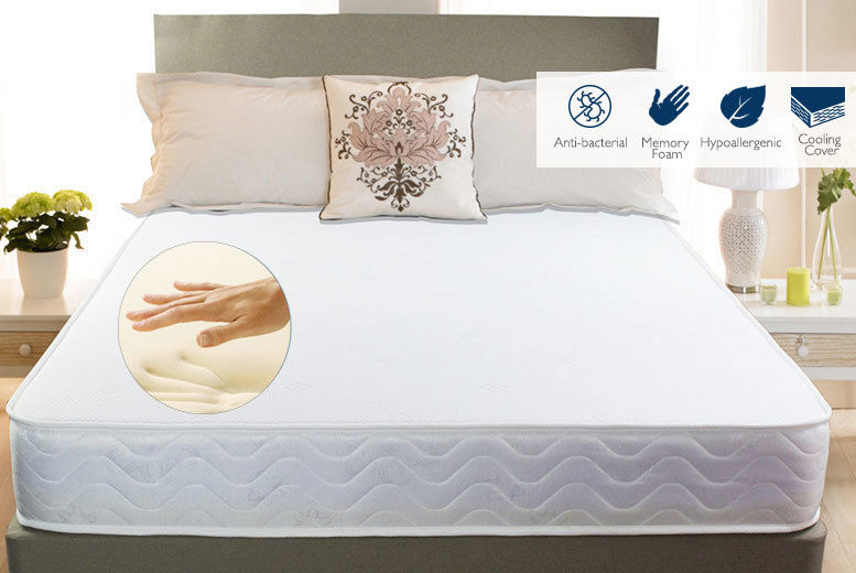 promo code fda9b 15121 Deluxe Cool Touch Memory Foam Mattress - 4 Sizes! | Shop ...