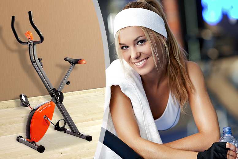 e2069c691e £59.99 instead of £115 for a Body Sculpture Star Shaper Exercise Bike from  Wowcher Direct - save 48%. WOWCHER DIRECT FOLDING EXERCISE BIKE