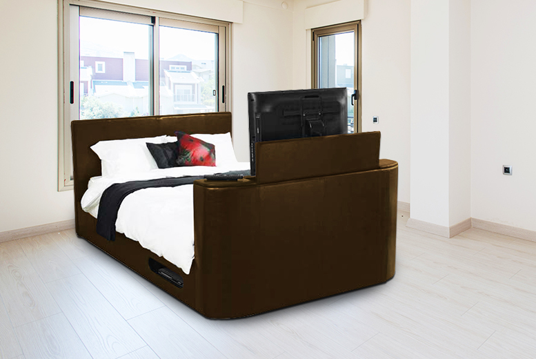 Hollywood Faux Leather TV Bed