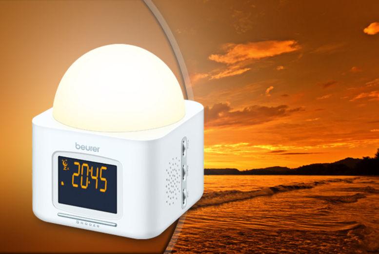 Beurer Wake Up Light.Sad Light Alarm Clock Shop Wowcher