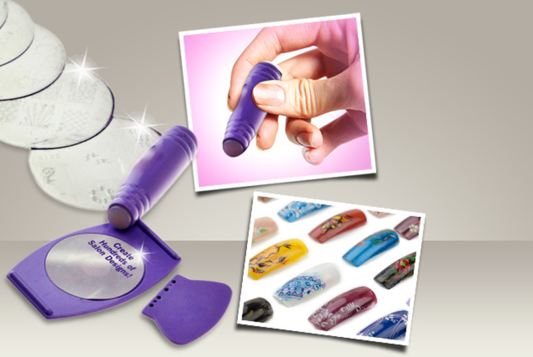 Nail Art Stamping Kit | Shop