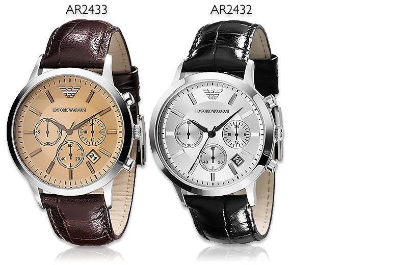 buy sale promo code Armani Men's Watches - AR2432 and AR2433 styles! | Watches ...