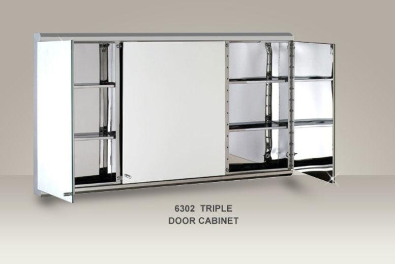 Stainless Steel Bathroom Corner Wall Mirror Cabinet Mc101: Stainless Steel Mirrored Bathroom Cabinet
