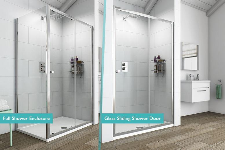 Victoria Plumb Glass Sliding Shower Door Or Shower Enclosure Shop