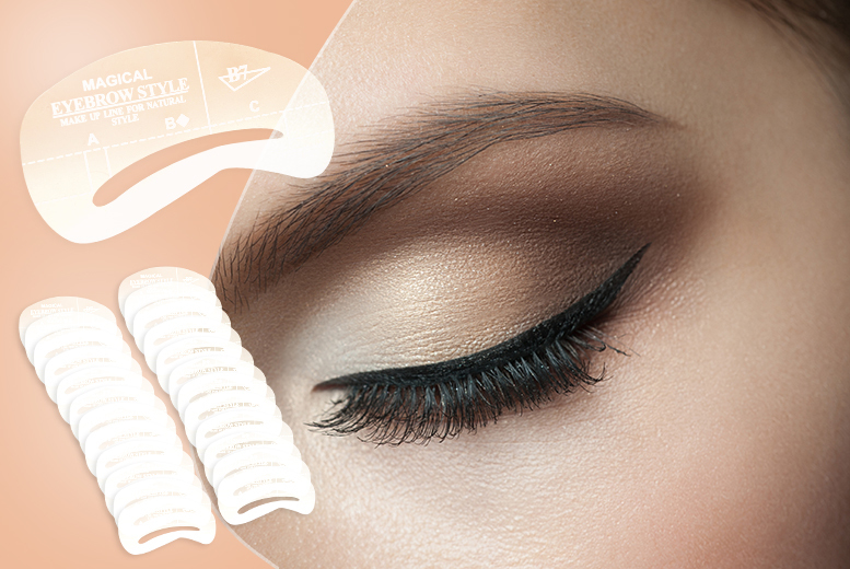 24 Eyebrow Shaping Templates Shop Wowcher