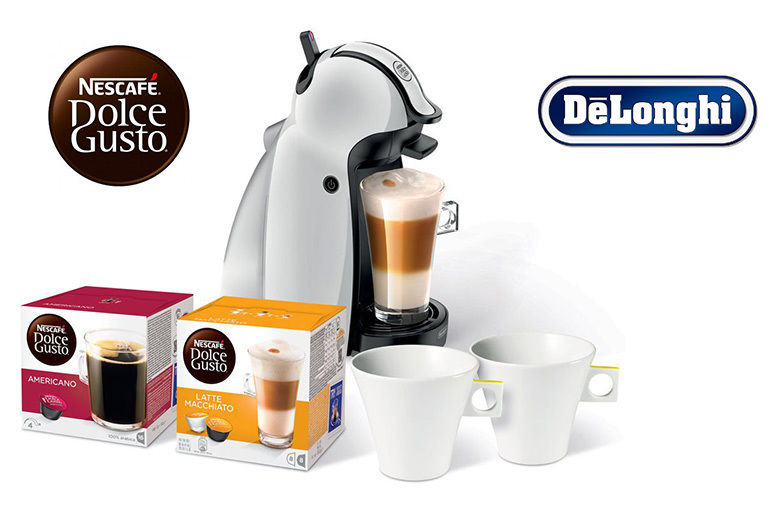 Delonghi Dolce Gusto Coffee Machine With 32 Coffee Pods 2