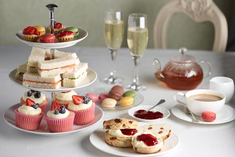 Sparkling Afternoon Tea For 2 Derby Wowcher