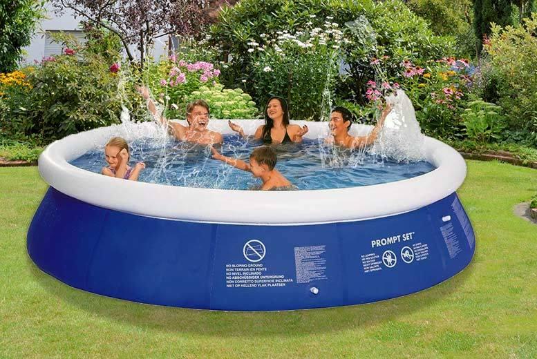 jilong inflatable swimming pool shop wowcher. Black Bedroom Furniture Sets. Home Design Ideas