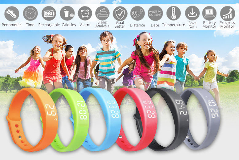 Kids' Fitness Tracker - Six Colours! | Fitness deals in Shop