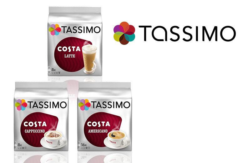48 Tassimo Costa T Discs Variety Pack Food And Drink Deals