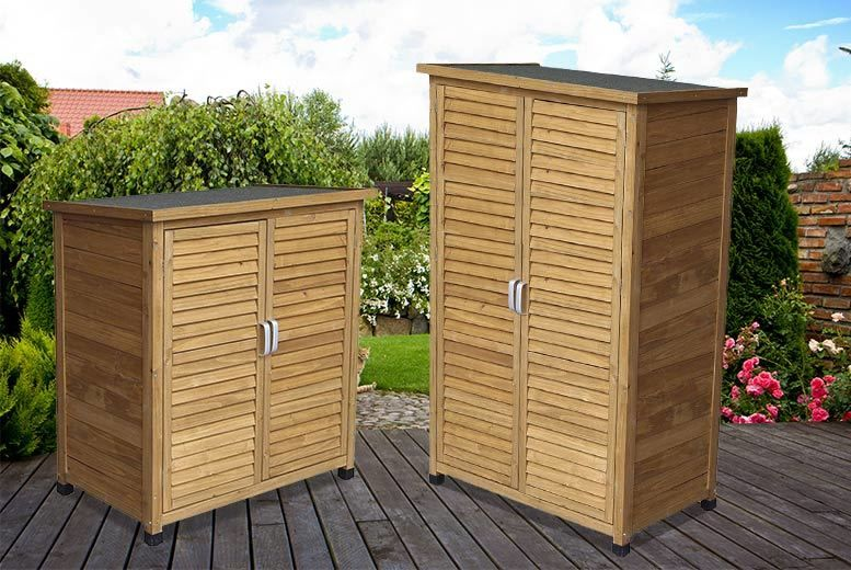 Wooden Storage Shed Small Or Tall, Small Wooden Garden Sheds