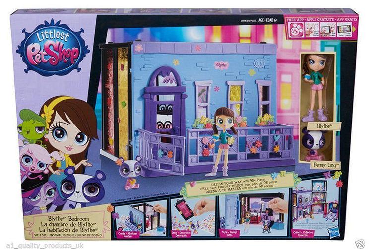 littlest pet shop bedroom style set shop wowcher