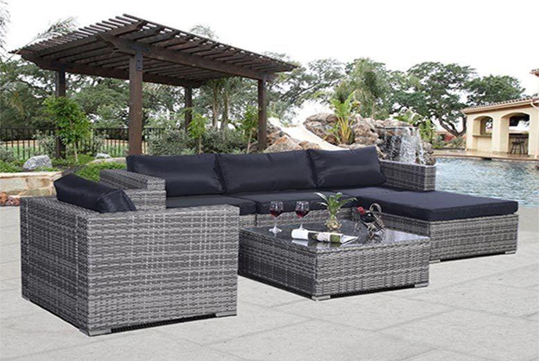 Brighton Patio Furniture.6pc Rattan Garden Furniture Sofa Set Garden Deals In Brighton