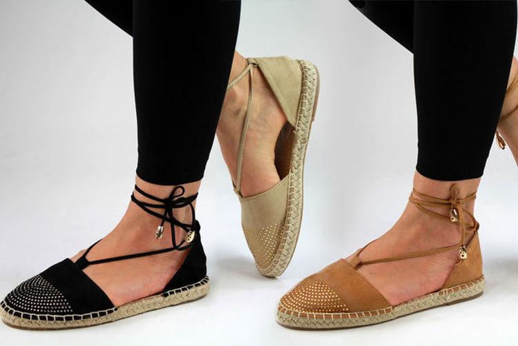 dfe6f9b3a58 Women s Espadrille Sandal Shoes - Wedge Heels   Ankle Strap