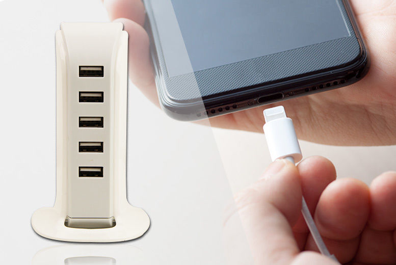Charge Tower Pro 6 port USB Charger