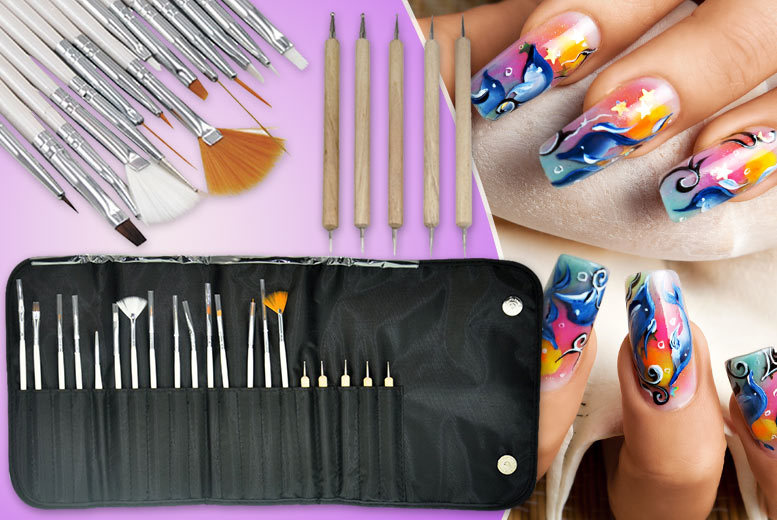 20-Piece Nail Art Tool Kit | Shop