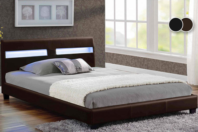 Valencia Bed With Led Lights Shop Wowcher