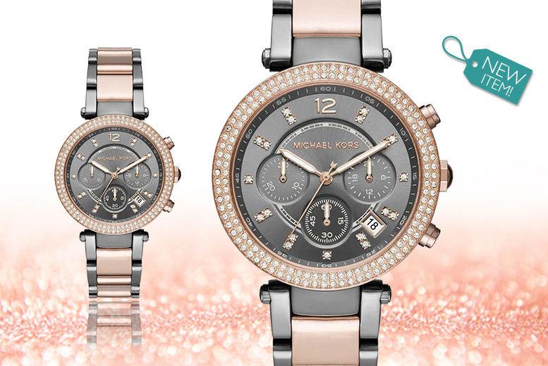 c666e5a07669 ... ladies Michael Kors MK6440 watch - save 54%. ShoponTime-LadiesMKWatch- MK6440