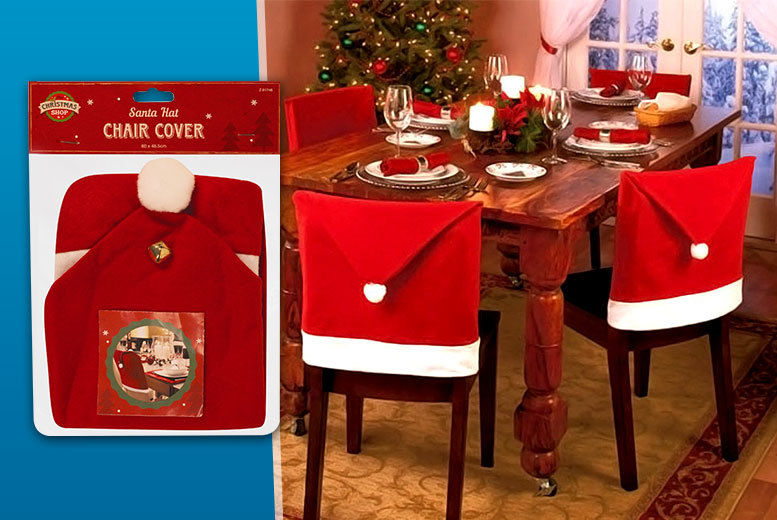 Enjoyable Santa Chair Covers Shop Wowcher Squirreltailoven Fun Painted Chair Ideas Images Squirreltailovenorg