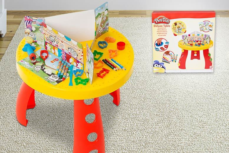 WOW-DIRECT--Playdoh-Activity-Table & Play-Doh Deluxe Activity Table Set | Shop | Wowcher
