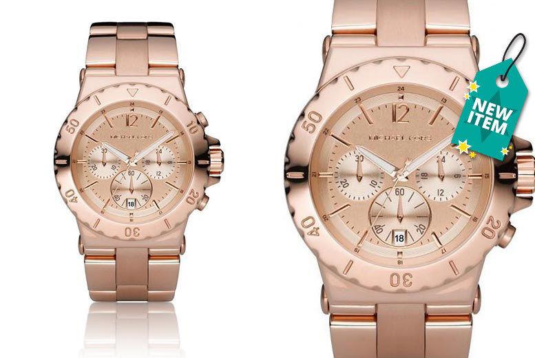 57589744ab1 Michael Kors MK5314 Dylan Chronograph Rose Watch