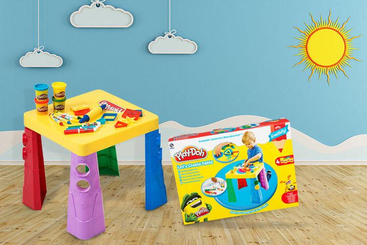 Sambro-International---Play-Doh-Lets-Create-Table1 ... & Play-Doh u0027Fold and Gou0027 or u0027Letu0027s Createu0027 Table Set | Shop | Wowcher