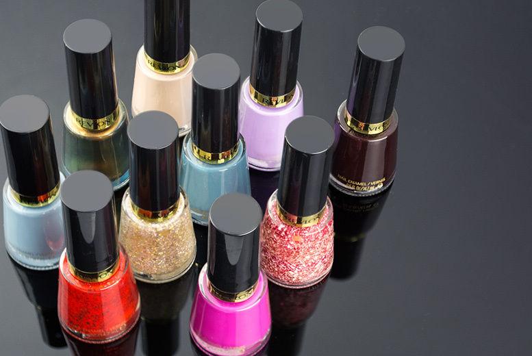 10pc Revlon Nail Polish Gift Set | Shop | Wowcher