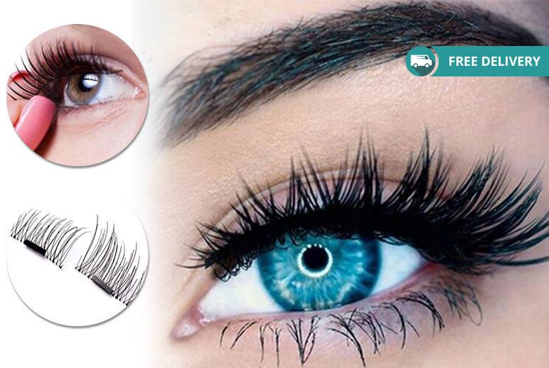 8 Magnetic Eyelash Extensions Bath Wowcher