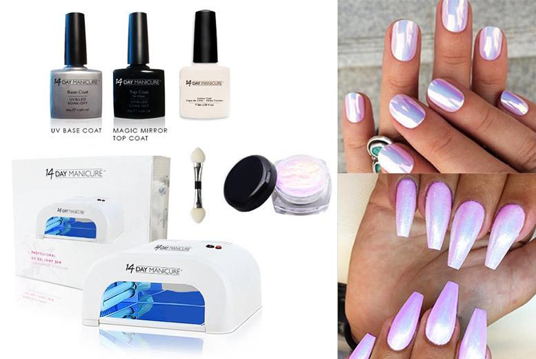 Five-Piece Unicorn Nails Manicure Kit | Nails deals in Shop | Wowcher