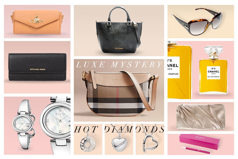 1f7e33877424 £20 (from Brand Logic) for a luxury mystery gift - Burberry handbag,  Michael Kors purse, Chanel perfume, Dior sunglasses, Gucci watch and more!