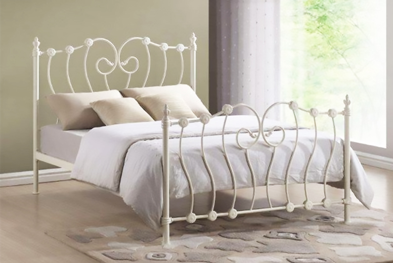 Inova Bed Frame - Double or King Size & Mattress Upgrade Option ...