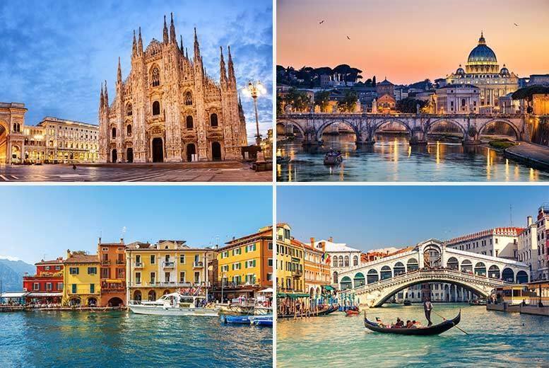 Milan To Rome >> 8nt Venice Rome Florence Milan Flights Trains Travel Wowcher