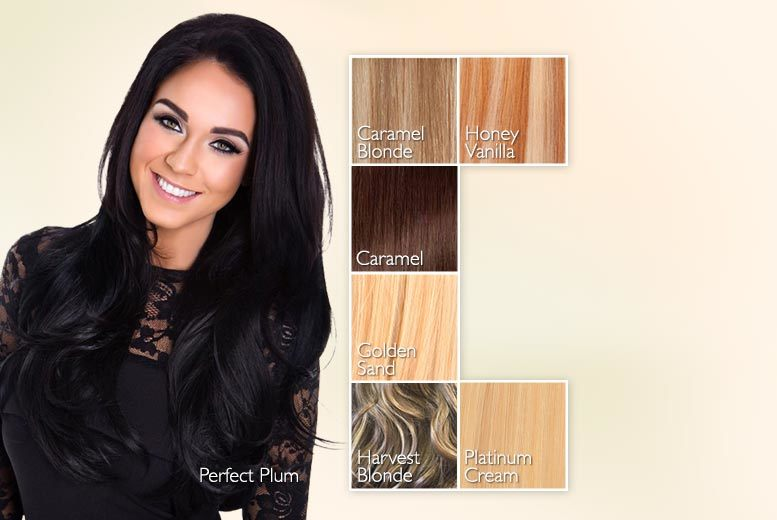 22 Vip By Vicky Pattison Volume Hair Extension Piece 7 Colours