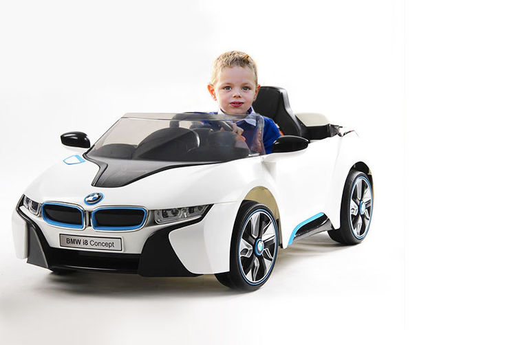 Kids Electric Ride On Bmw I8 Car Birmingham Wowcher