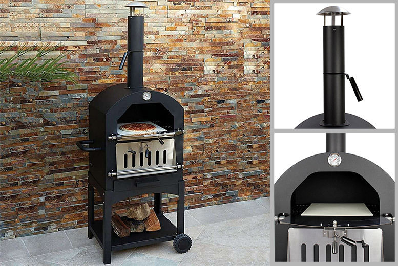Wood Fired Pizza Oven Manchester Wowcher